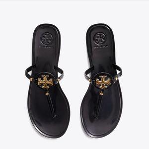 Tory Burch Mini Miller Jelly Sandal Black Size 9